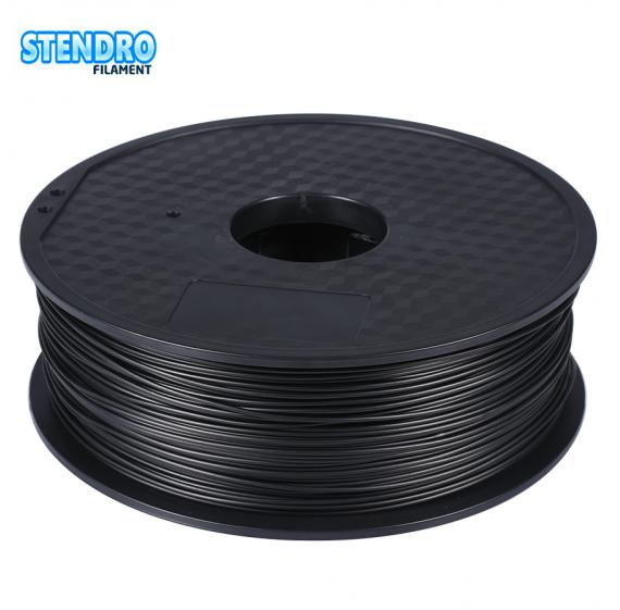 Пластик для 3д принтера PLA Черный Премиум